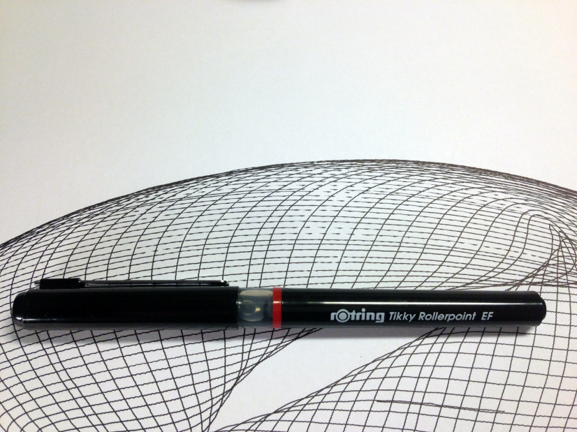 Rotring Tikky Rollerpoint Close Up