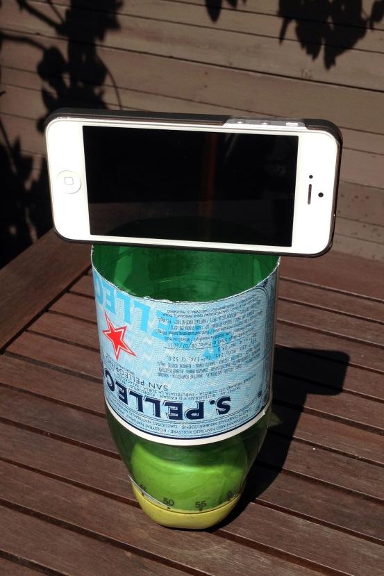 tlr_phone on bottle
