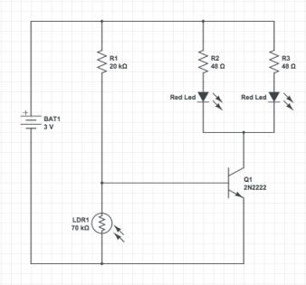 T-1000c - circuit diagram